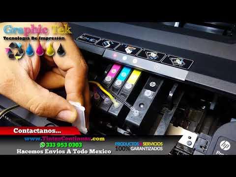 Instalacion Sistema Tinta Continua HP OfficeJet Pro 6970 6951 Cartuchos HP 904 908