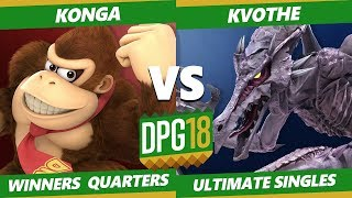 Smash Ultimate Tournament - Kvothe (Ridley) Vs. Konga (Donkey Kong) DPOTG18 SSBU WQ