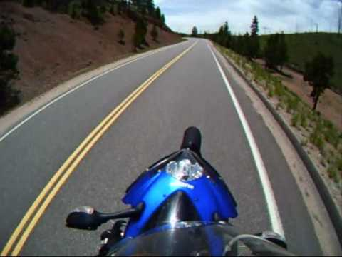 skiff summer 09 - gsxr riding in colorado ( Go Pro )