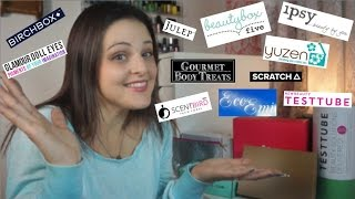 Which Beauty Subscription is Best for You? 14 SUBSCRIPTIONS REVIEWED!