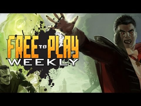 Free To Play Weekly - (ep.54) Dragon Knights. Universal Monsters Online & More