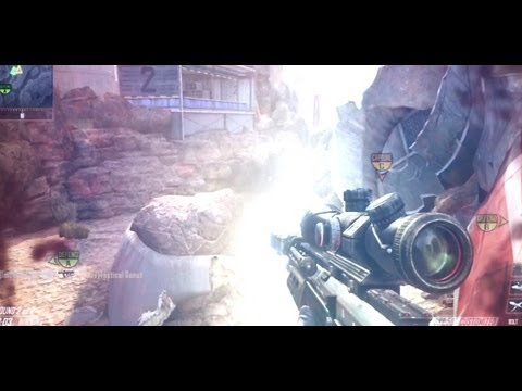 Black Ops 2 No Scope Sniper Montage (CoD 9 BO2 100% No-Scopes) [720p HD]