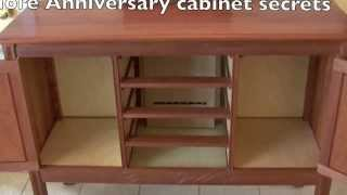 More Anniversary Cabinet secrets revealed