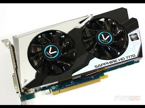 Sapphire HD 7770 Vapor-X GHZ Edition Graphics Card Video Review