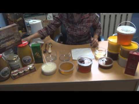 Видео как проверить натуральность меда в домашних условиях
