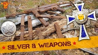 Finding WW2 treasures in Eastern Front Woods