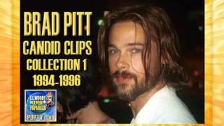 Brad Pitt Exclusive Clips Collection 1994-1996