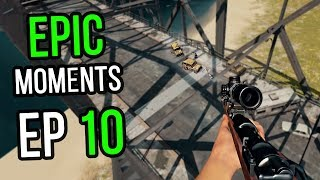 PUBG: Epic & Lucky Moments Ep. 10