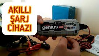Noco Genius G1100 6V/12V 40Ah Ultrasafe Akıllı Akü Şarj Ve Akü Bakım cihazı. ABONE OLURMUSUN...