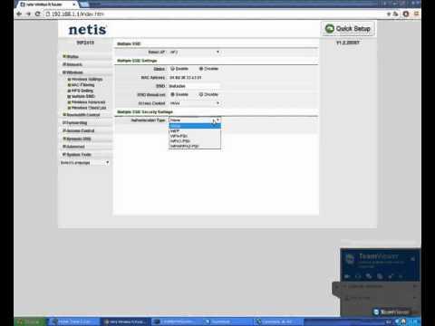 Red wifi invtados router Netis