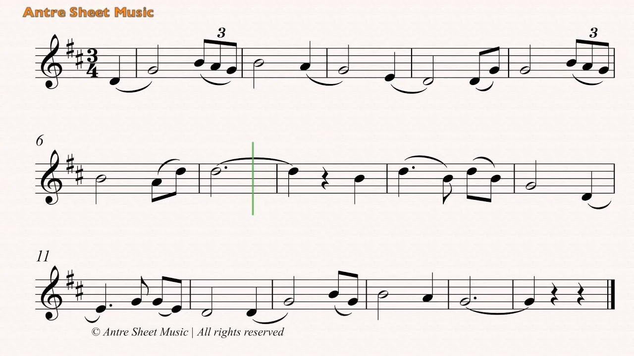 Amazing Grace- Trumpet sheet music - YouTube