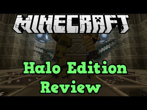Minecraft Xbox: Halo Texture Pack Mashup Pack Review