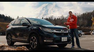 Essai du Honda CR-V au pied du Mont Fuji au Japon