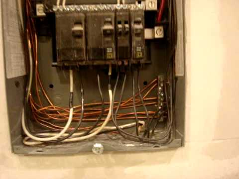 how to build a cabinet around electrical panel