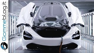 McLaren CAR FACTORY - How Build a Fast Performance Supercar