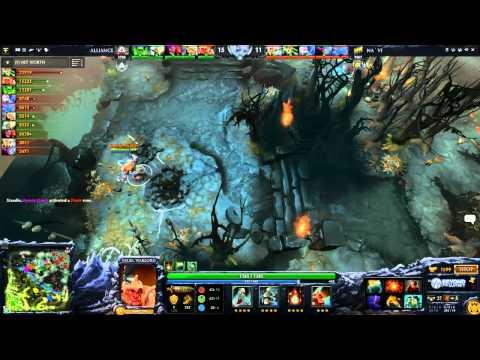 [EPIC] Navi vs Alliance - Game 1 (Dota 2 Asia Championships - Europe Qualifier) - Zyori & Merlini