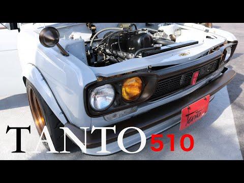 "Datsun ""tanto"" 510 235hp Rebello Troy Ermish built  GrassRoots Garage"