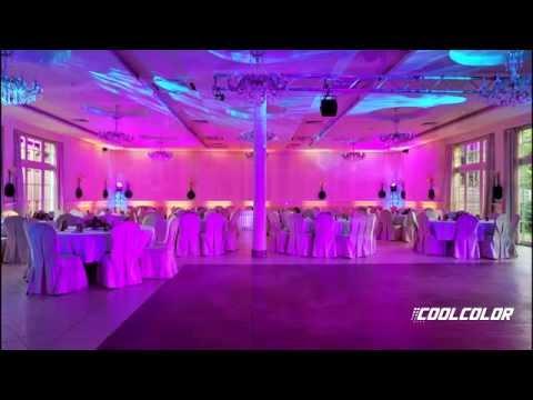 Sala Mirabelle - Tychy / Oświetlenie Dekoracyjne Na Wesele / Ciężki Dym Na Pierwszy Taniec