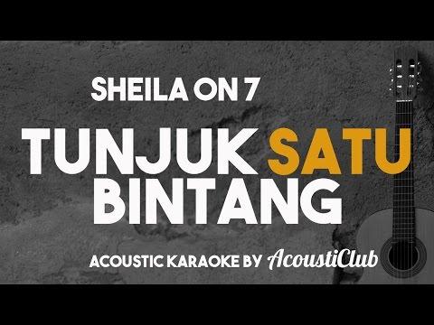 download lagu Tunjuk Satu Bintang Acoustic Karaoke She gratis