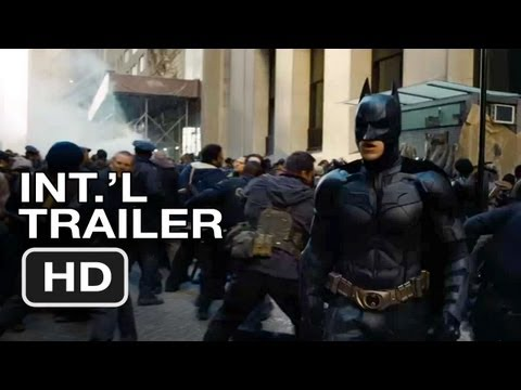 The Dark Knight Rises International Trailer (2012) Christopher Nolan Batman Movie HD