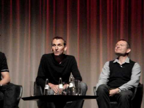 "Christopher Eccleston on ""Two Virgins"" photo in ""Lennon Naked"""