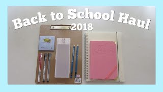 BACK TO SCHOOL HAUL 2018 (Philippines)