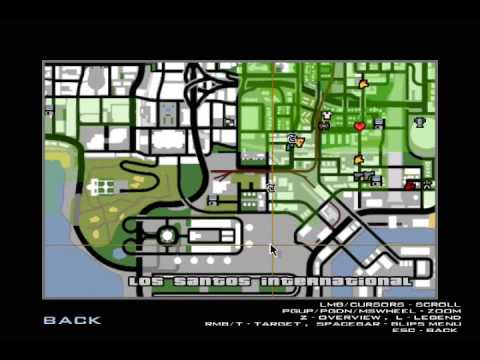 How To Teleport Using Only Your Map Gta San Andreas Youtube