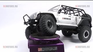 Видео-обзор модели Axial SCX10 Jeep Wrangler Unlimited Rubicon 2012 от RCMOTORS.RU
