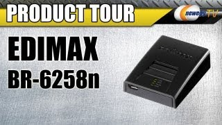 Newegg TV_ EDIMAX BR-6258n Wireless Broadband Nano Router Product Tour