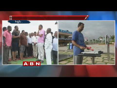 Minister Harish Rao Morning Walk at Komati Cheruvu | Siddipet
