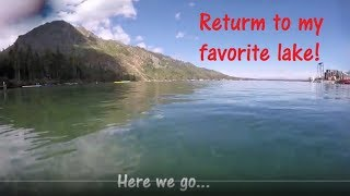 Diving my favorite mountain lake. 2018