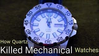 How Quartz Killed Mechanical Watches - Quartz Crisis Video