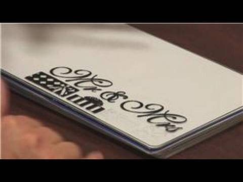 Scrapbooking : Ideas for Wedding Scrapbooks Video