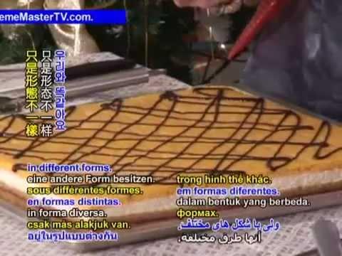 Álombeli karácsonyi krémes sütemény