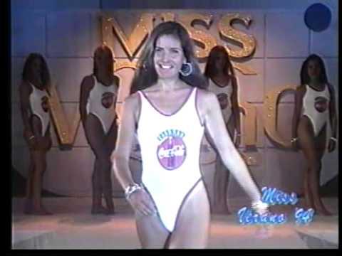 LORENA ARIAS - MISS VERANO 1994 - Pasada  Malla