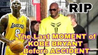 Kobe Bryant Last Appearance in Public Before Helicopter Crash Accident in Calabasas California