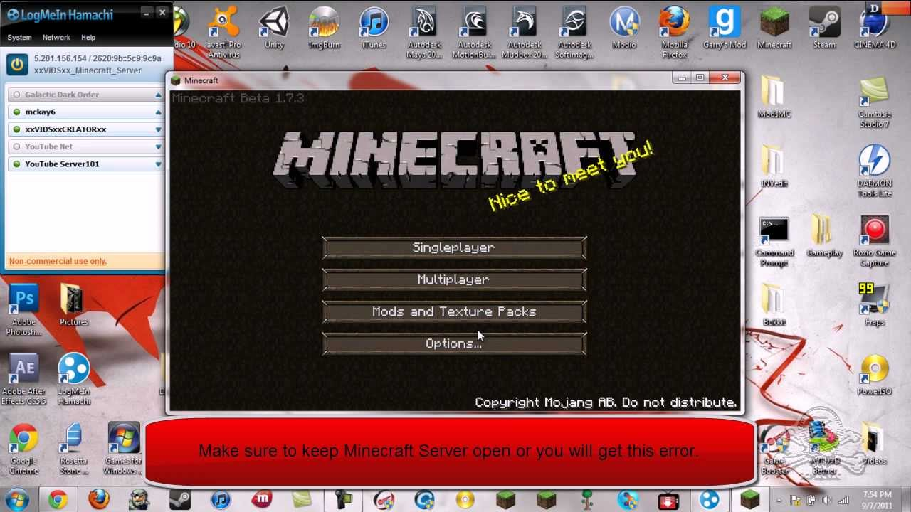 minecraft server exe 1.6.4