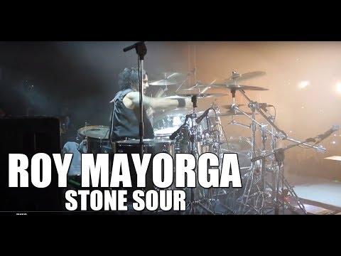Stone Sour (Roy Mayorga) - 'Gone Sovereign, Absolute Zero' live drum cam thumbnail