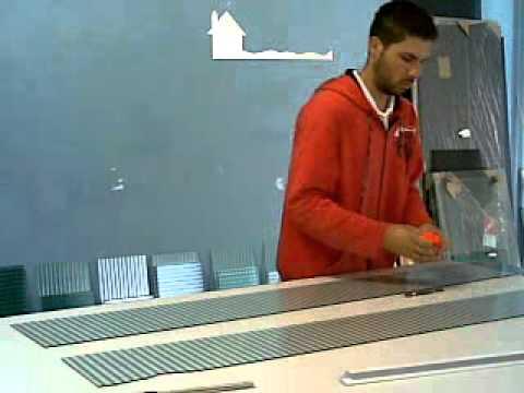 Como cortar vidro (cortando vidro comum manualmente)