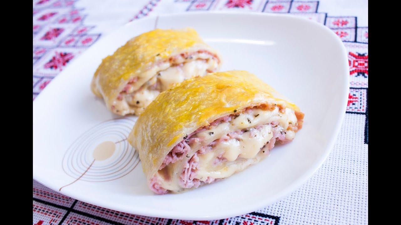 Рецепт слоеное тесто с сыром рецепт