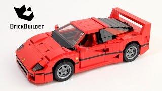 Lego Creator 10248 Ferrari F40 - Lego Speed Build