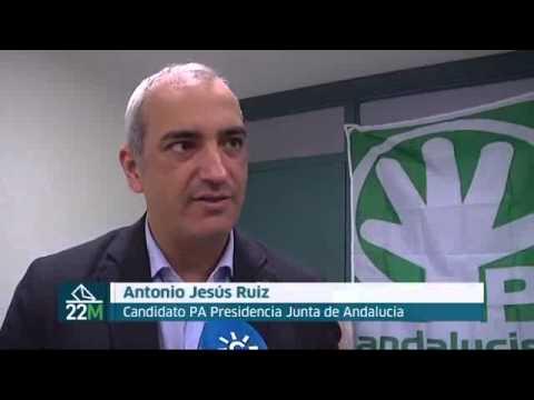 Antonio Jesús Ruiz (PA) sobre propuestas de empleo en Andalucía