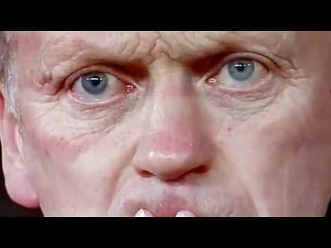 David Moyes Crying Manchester City 3-0 Manchester United