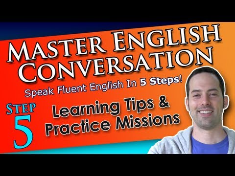 English Learning & Speaking Tips – Master English Conversation – English Fluency Training Course