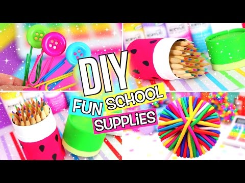 DIY School Supplies & Room Organization Ideas! 25 Epic DIY Projects for Back to School!