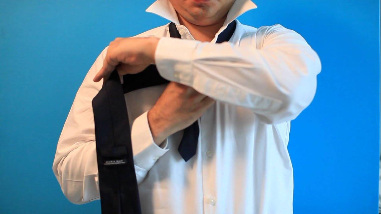 Nudo de corbata windsor por jossie jimenez youtube for Nudo de corbata windsor