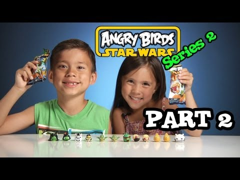 Opening ANGRY BIRDS STAR WARS Series 2 Blind Bags - PART 2