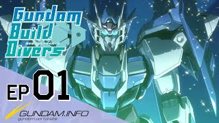 Gundam Build Divers-Episode 1: Welcome to GBN (EN dub)