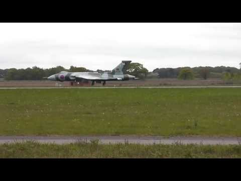 Avro Vulcan XH558 First Takeoff of 2013 | Takeoff x2 | Landing x2 | Touch and Go x2 |