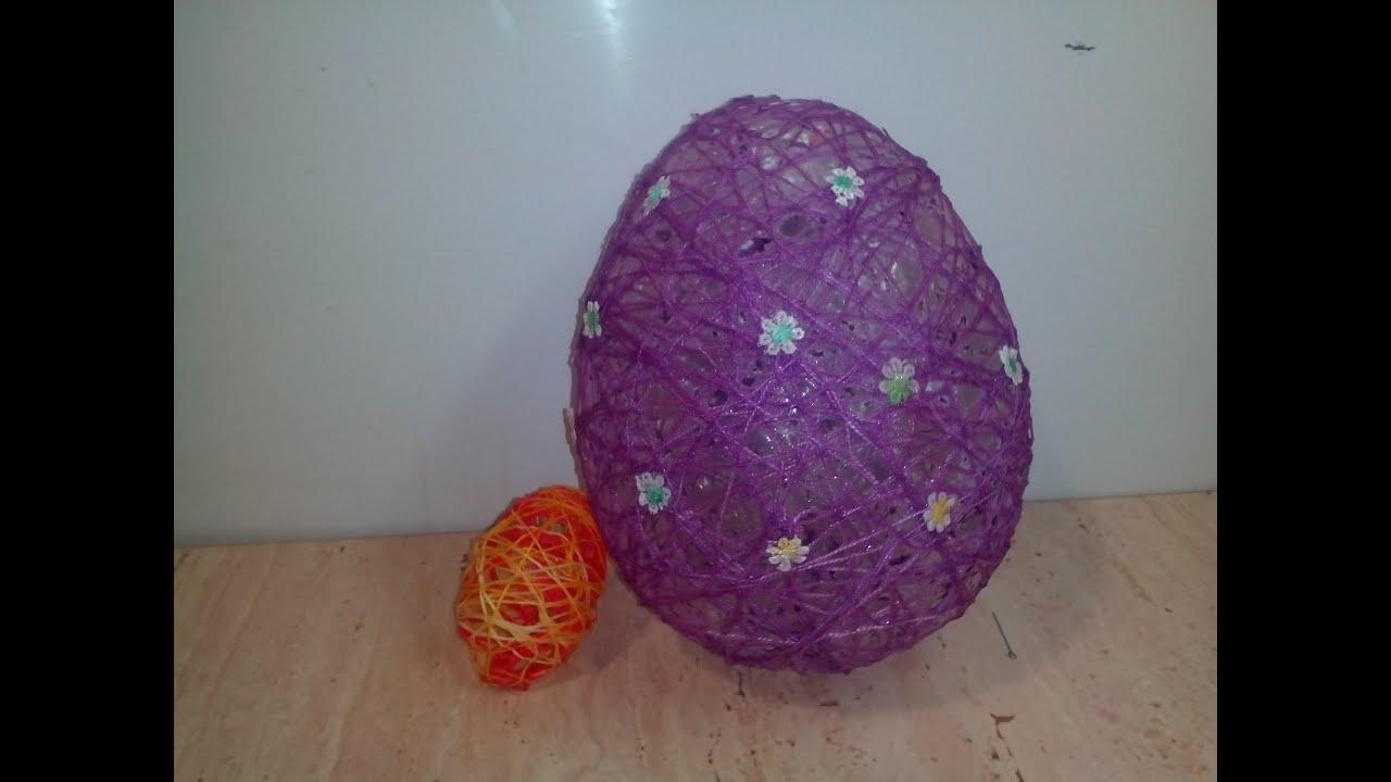 Как сделать большое яйцо своими руками